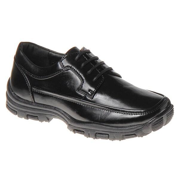 Joseph Allen Boys' Black Casual Shoes