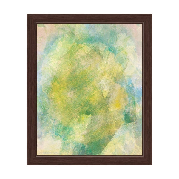 Chartreuse Flame Framed Graphic Art