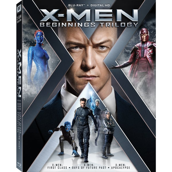 X-Men: Beginnings Trilogy (Blu-ray Disc) 19553014