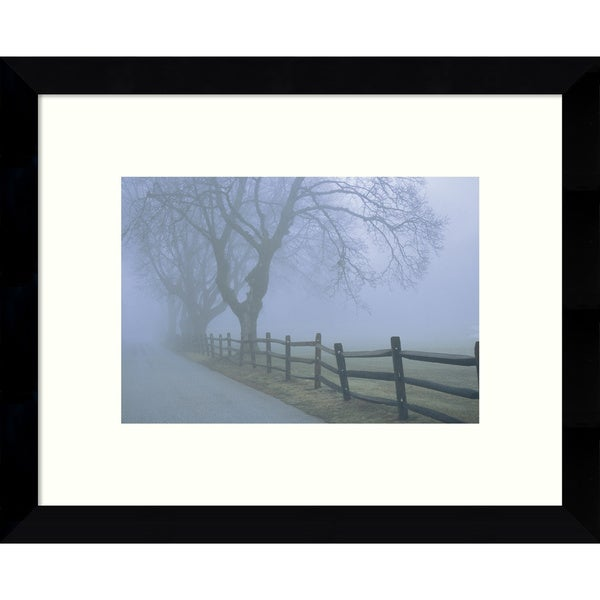 Framed Art Print 'Remembrance (Landscape)' by David Lorenz Winston 11 x 9-inch