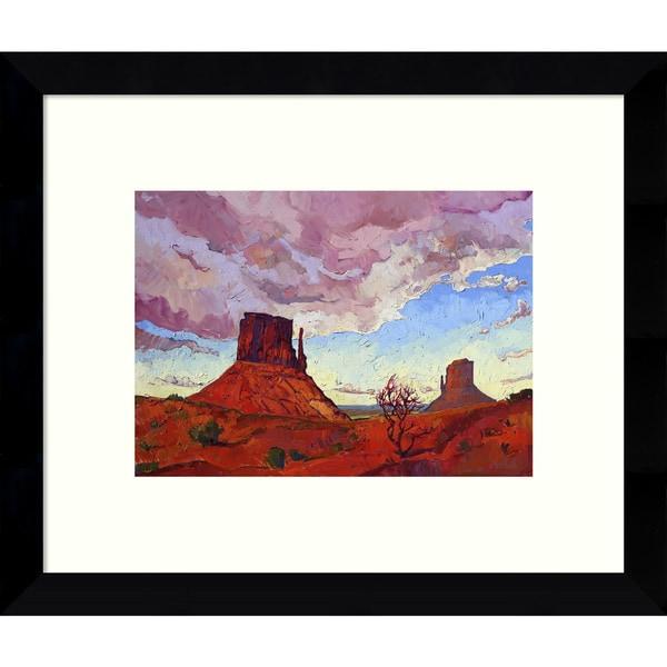 Framed Art Print 'The Guardians (Desert)' by Erin Hanson 11 x 9-inch 19554866