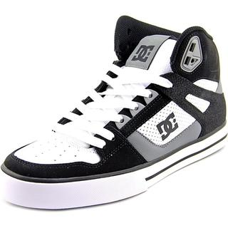 DC Shoes Men's 'Spartan High WC' Leather Athletic Shoes
