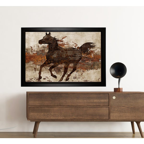 'Running Free II' (Framed Version)