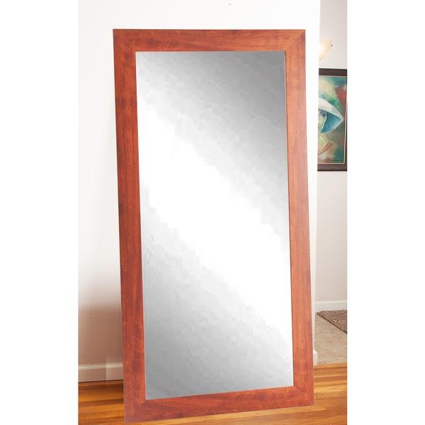 Canadian Walnut Floor Mirror