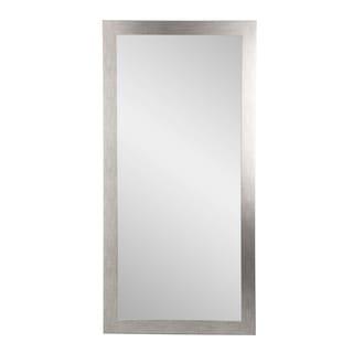 Stainless Grain Floor Mirror