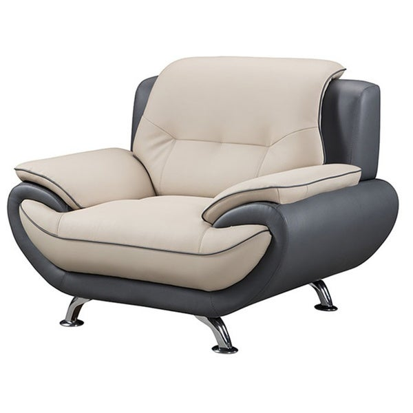 American Eagle Light Grey & Dark Grey Chair