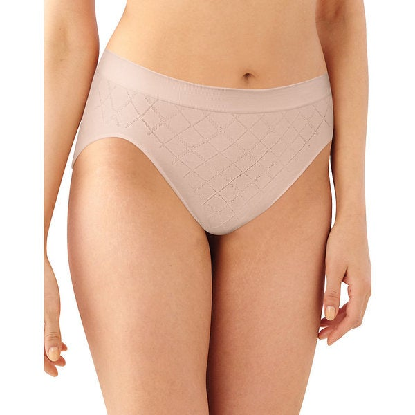 Comfort Women's Revolution Hi-Cut Nude Diamond Panty