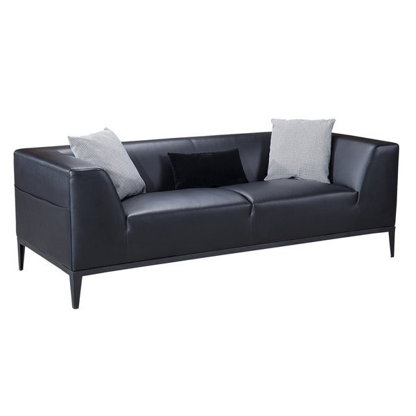 American Eagle Black Sofa