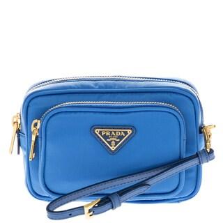 Prada Tessuto Small Pocket Crossbody Bag