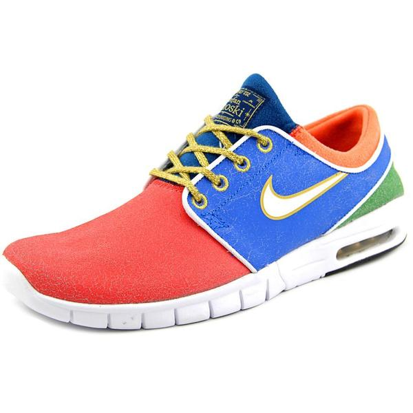 Nike Men's 'Stefan Janoski Max QS' Leather Athletic Shoes