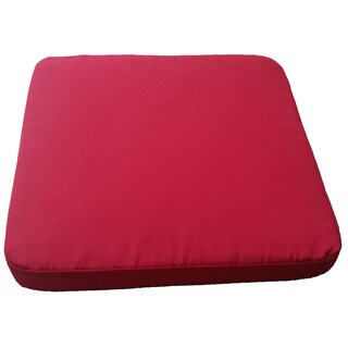 Clingo Cushions Indoor/Outdoor Red Magnetic Bistro Seat Pad
