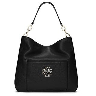 Tory Burch Britten Black Hobo Handbag
