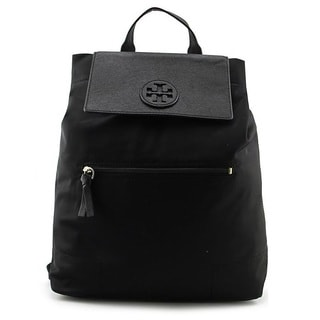 Tory Burch Ella Black Packable Backpack
