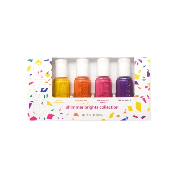 Essie Shimmer Brights 4-piece Mini Nail Polish Collection