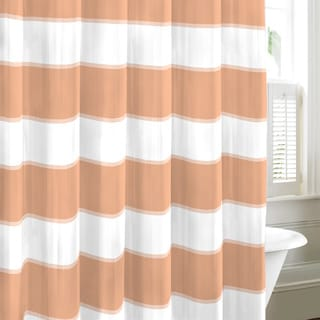 Nautica Guardhouse Coral Cotton Shower Curtain