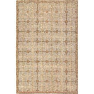 Abbyson Living Handmade Himalayan Sheep Wool Rug (4' x 6')