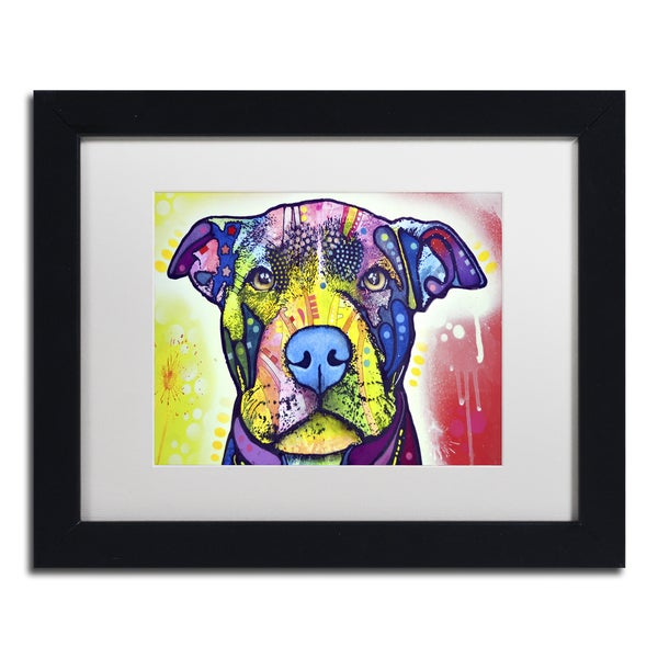 Dean Russo 'Love A Bull This Years Love 2013 Part 1' Matted Framed Art 19560003