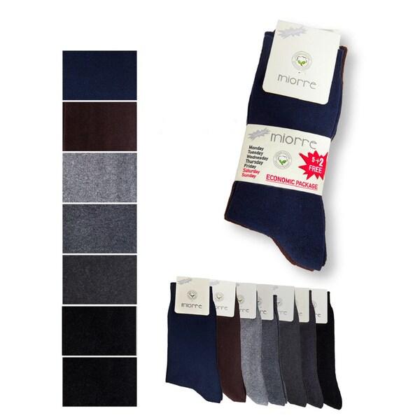Miorre Men's Dress Socks (Pack of 7)