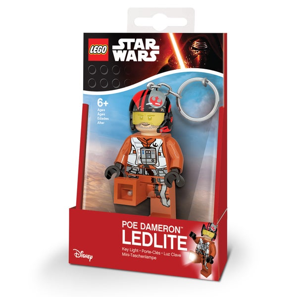LEGO Star Wars Poe Dameron Key Light