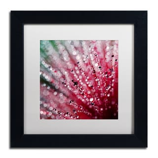 Beata Czyzowska Young 'Pink Melody' Matted Framed Art