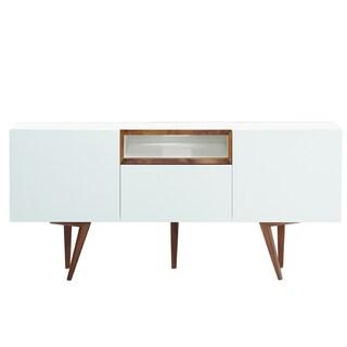 Belling Modern Living Branden White Wood Dining Room Sideboard