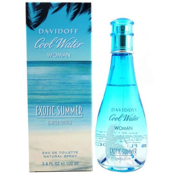 Davidoff Cool Water Woman Exotic Summer 3.4-ounce Eau de Toilette Spray