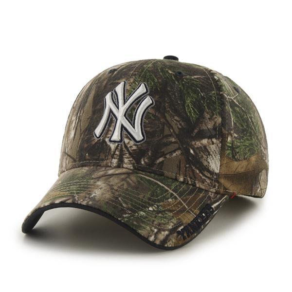Fan Favorites New York Yankees MLB RealTree Snapback Hat