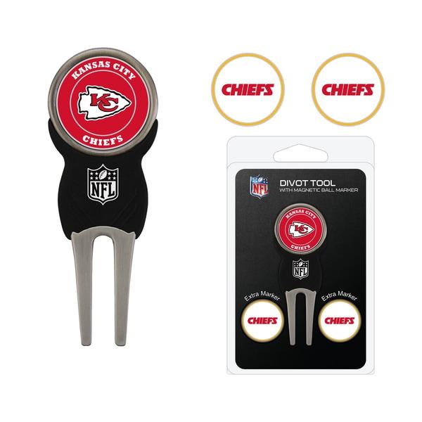 NFL Kansas City Chiefs Golf Divot Tool Pack