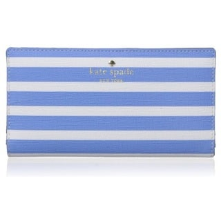 Kate Spade New York Fairmount Square Stacy Alice Blue/Sandy Beach Wallet