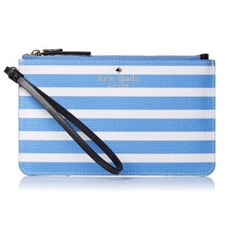 Kate Spade New York Fairmount Square Slim Bee Alice Blue/Sandy Beach Wallet