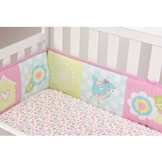 Baby's First Garden Song Crib Bumper Set