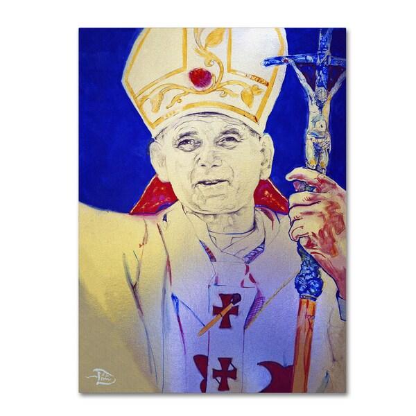 Lowell S.V. Devin 'Pope John Paul II' Canvas Art