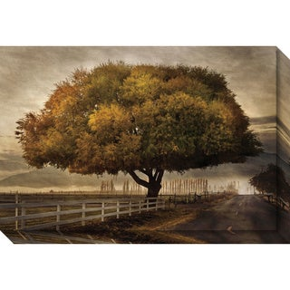 Canvas Art Gallery Wrap 'Autumnal Landscape' by David Lorenz Winston 30 x 20-inch