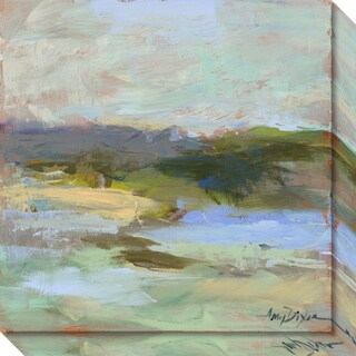 Canvas Art Gallery Wrap 'From Afar' by Amy Dixon 20 x 20-inch