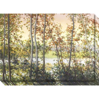 Canvas Art Gallery Wrap 'Autumn Shady' by Elissa Gore 28 x 20-inch