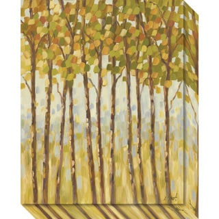 Canvas Art Gallery Wrap 'Tall Trees' by Libby Smart 16 x 20-inch