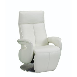 Bellini Aaron White Leather Motion Chair