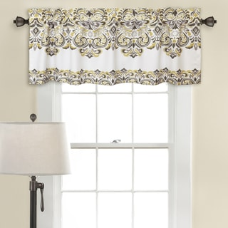 Lush Decor Clara Room-darkening Valance Set