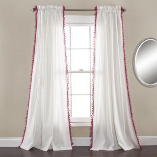 Lush Decor Urban Tassel Window Curtain Set