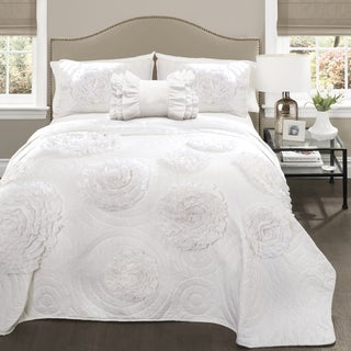 Lush Decor Fiorella Quilt 4 Piece Set