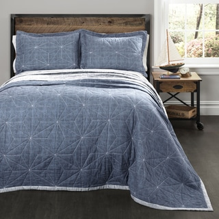 Lush Decor Aiden Quilt 3-piece Set