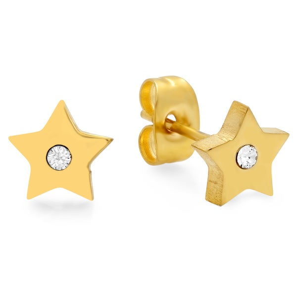 Swarovski Elements Star Studs