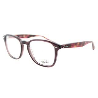 Ray-Ban RX 5352 5628 Opal Brown Plastic Square 52mm Eyeglasses