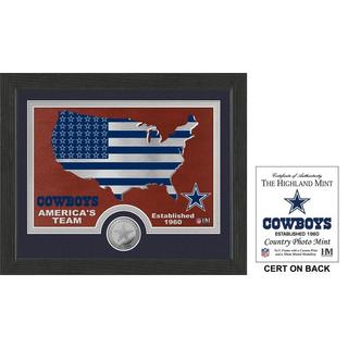 """Dallas Cowboys """"Country"""" Minted Coin Photo Mint"""