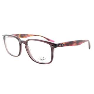 Ray-Ban RX 5353 5628 Opal Brown Plastic Square 52mm Eyeglasses