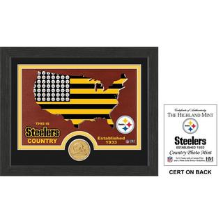 "Pittsburgh Steelers ""Country"" Bronze Coin Photo Mint"