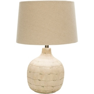 Brownsville Table Lamp with Antique Resin Base