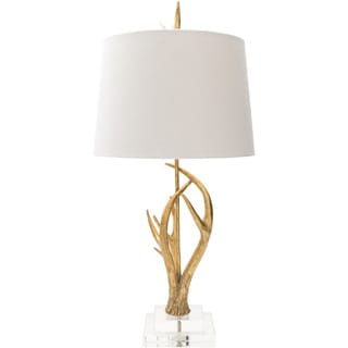 Cartag Table Lamp with Painted Crystal Base