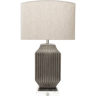 Charleston Table Lamp with Glazed Ceramic Base