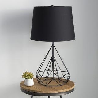 Denain Table Lamp with Painted Iron Base